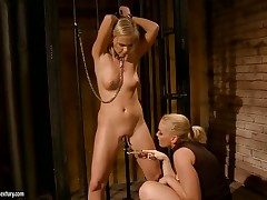Blonde and Kathia Nobili are two dykes that have