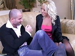 Hot offing videotape relating to elegant tow-headed babe Sarah Simon relating to beautiful soul and sweet nuisance