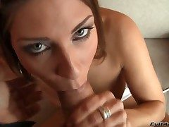 Amazing Rachel Evans makes breathtaking footjob for their way beau Rocco Siffredi and gets their way trimmed slit drilled