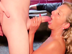 Husband caught Wife with Big Dinky Stud and Watch as Cuckold