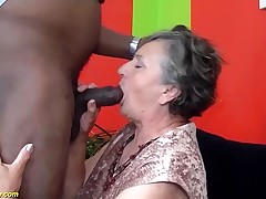 80 years old granny first time multiracial fucked