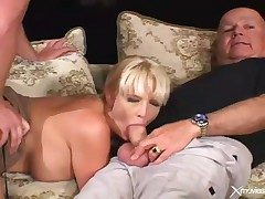 Cuckold video with get hitched blowjob and hardcore lovemaking